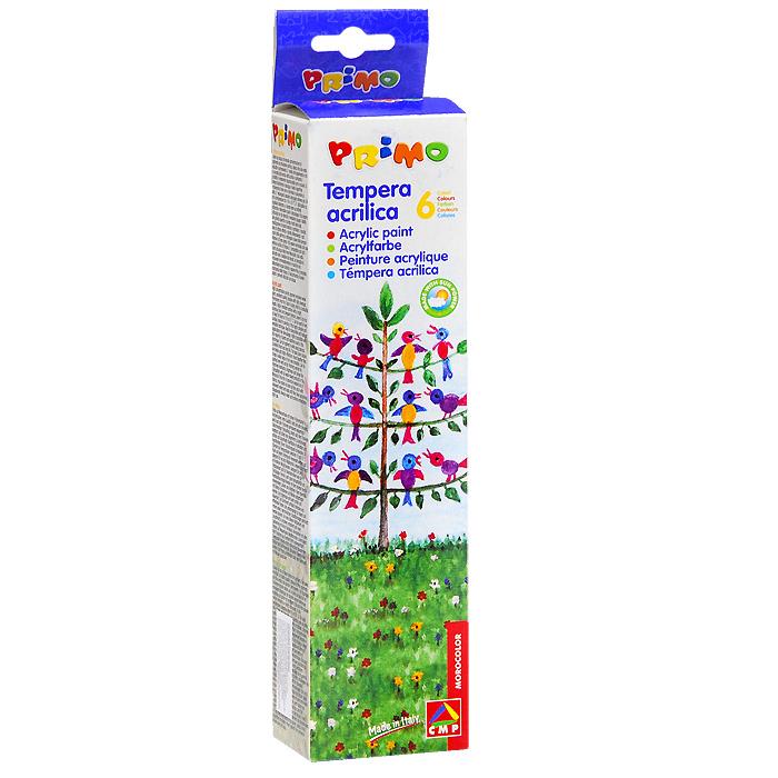 Акриловые краски 6цвx25 мл408TA6От производителя Матовые акриловые краски Primo легко наносятся на любую поверхность, сохраняя яркость и насыщенность цветов. Акриловые краски идеально подходят для любых видов декорирования. Также краски могут использоваться для декорирования стен с помощью трафаретов. После высыхания краски не смываются. Комплект включает шесть баночек с краской белого, желтого, оранжевого, синего, зеленого и черного цветов и удобную палитру с выемками для смешивания красок. Матовые акриловые краски Primo легко наносятся на любую поверхность, сохраняя яркость и насыщенность цветов. Акриловые краски идеально подходят для любых видов декорирования. Также краски могут использоваться для декорирования стен с помощью трафаретов. После высыхания краски не смываются. Комплект включает шесть баночек с краской белого, желтого, оранжевого, синего, зеленого и черного цветов и удобную палитру с выемками для смешивания красок.