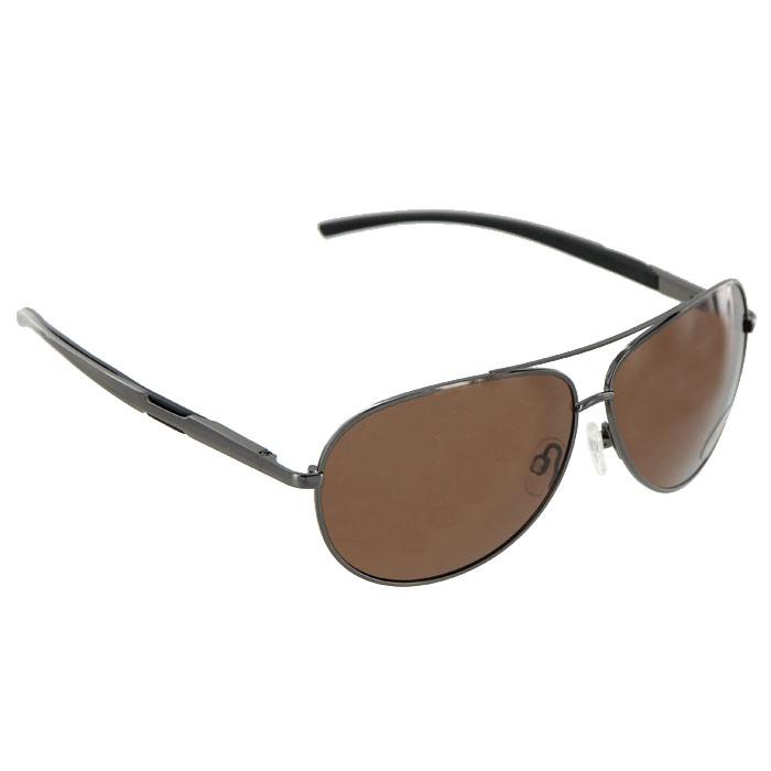 Солнцезащитные очки Pro Vision, универсальные, цвет: темно-серый. DC60472BDC60472BСолнцезащитные поляризационные очки Pro Vision - универсальны и уникальны, они подходят как для вождения автомобиля, так и для туризма, рыбалки, спорта и активного образа жизни. Основные особенности очков Pro Vision: Не пропускают ультрафиолетовое излучение, которое крайне вредно для глаз; Способствуют улучшению цветоразличения даже в неспокойную погоду; Повышают контрастность зрения. Надев эти очки, вы сможете четко видеть пространство впереди себя. Оправа очков легкая и не создает никакого дискомфорта. Цвет линз - коричневый, оправа - темно-серая с черными вставками.