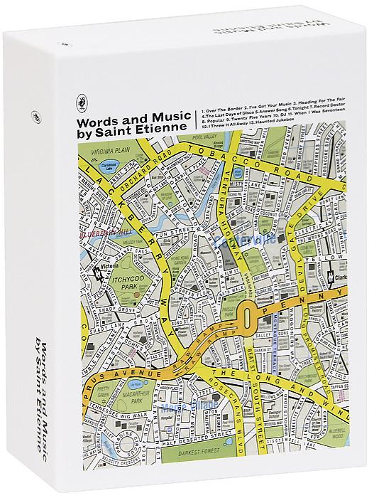 Saint Etienne. Words And Music By Saint Etienne (3 CD)