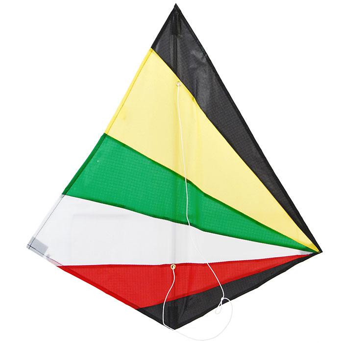 Simba Воздушный змей Sky Artist, цвет: желтый, зеленый, 56 см х 58 см7240092Воздушный змей Sky Artist идеально подойдет для веселого времяпрепровождения на свежем воздухе. Воздушный змей - это привязной летательный аппарат тяжелее воздуха. Поддерживается в воздухе давлением ветра на поверхность, поставленную под некоторым углом к направлению движения ветра и удерживаемую леером с земли. В последнее десятилетие наблюдается всплеск интереса к игровым воздушным змеям, который доходит, наконец, и до России. Но воздушные змеи - это не только развлечение, хобби, активный отдых, это еще и замечательная развивающая игра. Воздушные змеи летают благодаря встречному потоку воздуха, или, проще говоря, ветру. Именно ветер создает подъемную силу у змея. Без ветвоздушный змей, леер, ремешок ра не взлетит ни один змей! Чем сильнее ветер, тем проще поднять воздушного змея. Для новичков советуем выбирать ветра посильнее. Для запуска змеев надо выбирать большие открытые площадки. Змея можно запускать в одиночку или...