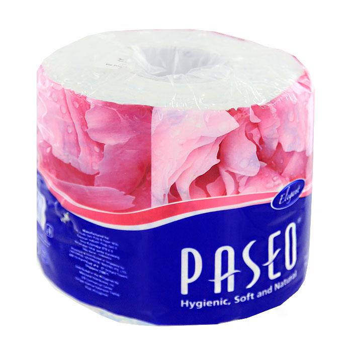 Туалетная бумага Paseo Elegant, двухслойная490034/211368Двухслойная туалетная бумага Paseo Elegant, выполненная из натуральной целлюлозы, обеспечивает превосходный комфорт и ощущение чистоты и свежести. Она отличается необыкновенной мягкостью и прочностью. Бумага хорошо перфорирована, не расслаивается и отрывается строго по просечке. Не содержит флуоресцентных добавок, красителей и парфюмерных отдушек.
