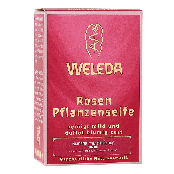 Мыло растительное Weleda Rosen, 100 г9883Розовое растительное мыло Weleda Rosen содержит ценное масло в сочетании с другими ценными эфирными маслами. Дарит нежный аромат розы. Прекрасно подходит для нежного очищения рук, лица и тела. Рекомендуется для чувствительной и истощенной от частого мытья кожи. Образует нежную, как крем, пену. Не содержит искусственных красителей, консервантов и сырья на основе минеральных масел. 100% натуральный состав. Характеристики: Вес: 100 г. Размер упаковки: 8,5 см х 5,5 см х 3 см. Производитель: Германия. Артикул: 9883. Товар сертифицирован.