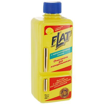 Очиститель для холодильников Flat, с ароматом лимона, 400 г4600296002113Очиститель для холодильников Flat с нейтрализатором запахов подходит для мытья внутренней и внешней поверхности холодильника. Устраняет неприятные запахи и придает очищенным поверхностям блеск и свежесть. Сорбирующая добавка в составе средства не просто маскирует запахи, а уничтожают их. Средство создает защитную пленку, облегчающую дельнейший уход за поверхностями. Оригинальная упаковка в виде холодильника. Характеристики: Вес: 400 г. Производитель: Россия.
