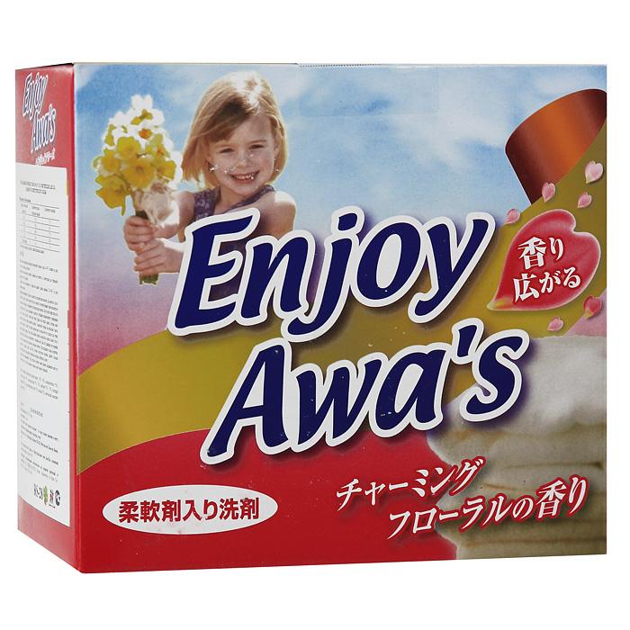Стиральный порошок Enjoy Awars, со смягчителем, 900 г303257Стиральный порошок Enjoy Awars предназначен для стирки хлопчатобумажных, льняных и синтетических тканей. Средство превосходно справляется с загрязнениями и наполняет ваши вещи необыкновенной свежестью. Подходит для ручной и машинной стирки. Характеристики: Вес: 900 г. Изготовитель: Вьетнам. Товар сертифицирован. УВАЖАЕМЫЕ КЛИЕНТЫ! Обращаем ваше внимание на возможные изменения в дизайне упаковки. Поставка осуществляется в зависимости от наличия на складе.