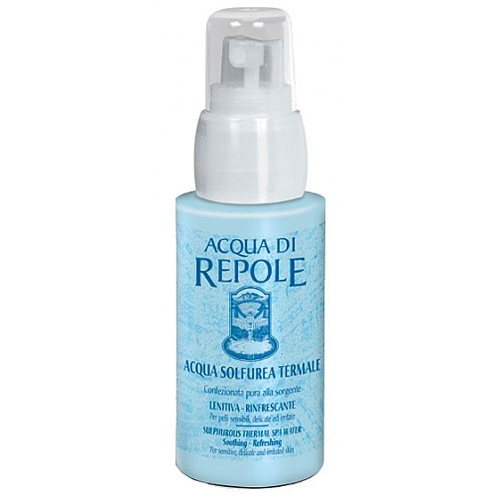Сернистая термальная вода-спрей Frais Monde Acqua Di Repole, 50 млAR501Сернистая термальная вода-спрей Frais Monde Acqua Di Repole из источника Repole (Италия) прекрасно освежит и увлажнит кожу во время пребывания на солнце, снимет раздражение чувствительной кожи, поможет при лечении акне, успокоит кожу после эпиляции и процедуры бритья, подойдет для ухода за нежной детской кожей. Обладает увлажняющим, смягчающим, тонизирующим, освежающим и успокаивающим действием. Благодаря особой системе разбрызгивания dы ощутите на своей коже россыпь мельчайших капель освежающей влаги, а макияж останется в полном порядке! Особая технология упаковки исключает контакт сернистой термальной воды с внешними агентами, что позволяет сохранить все ее природные целебные свойства. Не содержит пропеллент. Способ применения: распылить термальную воду на лицо или тело с расстояния 20-30 см, оставить на некоторое время до полного впитывания, остатки аккуратно промокнуть сухой салфеткой. Для снятия макияжа - обильно распылить спрей на лицо, затем аккуратно...