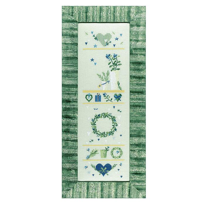 Набор для вышивания Растения-сэмплер в синих тонах, 17 см х 63 см2490Набор для вышивания Acufactum Растения-сэмплер в синих тонах содержит в комплекте 12-ниточный лен, однониточное матовое мулине (крученый хлопок), цветная символьная схема и идеи, как применить готовую вышивку, от самой Ute Menze! Инструкция: работа в технике счетный крест в одну нить. Наборы для вышивания Acufactum не производятся в промышленных масштабах, что говорит об их эксклюзивности. Оригинальные сюжеты Ute Menze с проработанной схемой доставят Вам массу удовольствия во время творчества. А готовые работы не останутся не замеченными Вашими друзьями! Acufactum - это синоним восхитительного стиля!