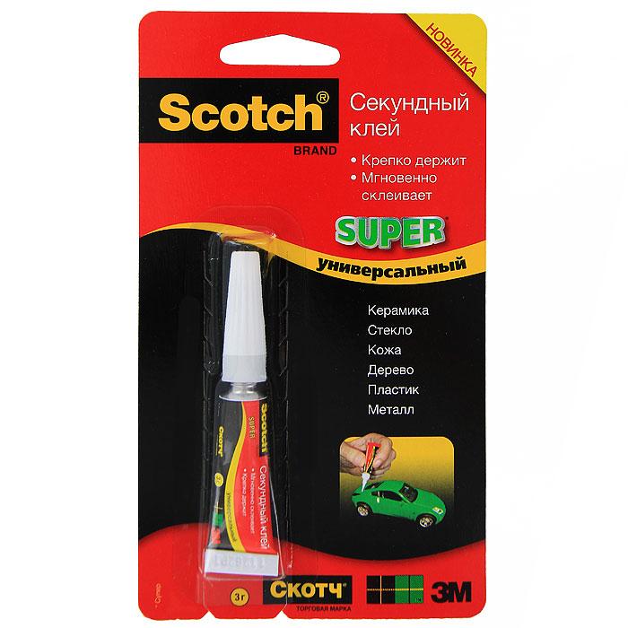 """Секундный клей """"Scotch"""", 3 г 3M K24921 (SG-1)"""