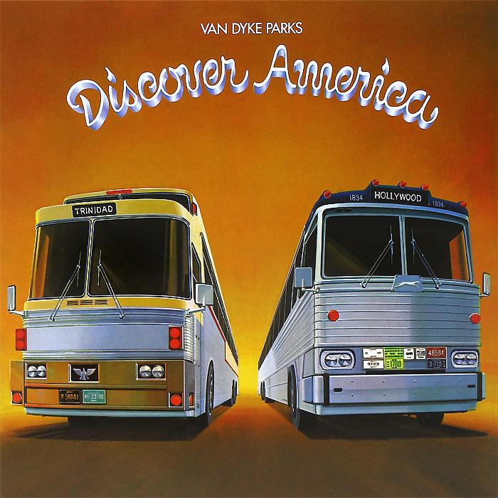 Van Dyke Parks. Discover America (LP + CD)