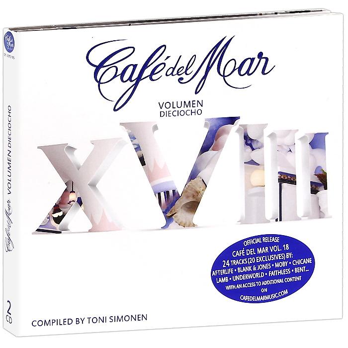 Cafe Del Mar. Volumen Dieciocho (2 CD) 2012 2 Audio CD