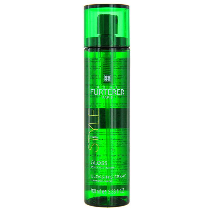Спрей-глосс Rene Furterer Gloss для блеска, 100 мл3282779258586Спрей Rene Furterer Gloss используется на сухие волосы. Он придает исключительный блеск волосам. Спрей придает зеркальный эффект любой прическе. Не утяжеляет волосы и может наноситься несколько раз в день. Активные компоненты : Запатентованный комплекс Анатид - вещество, защищающее волосы от потери влаги и вредных внешних воздействий. Витамин В5 - для большей эластичности и блеска. Фиксирующие полимеры - придают объем. Фильтры UV - защищают от неблагоприятного ультрафиолетового излучения. Способ применения : Наносится на сухие волосы с расстояния приблизительно 20 см.