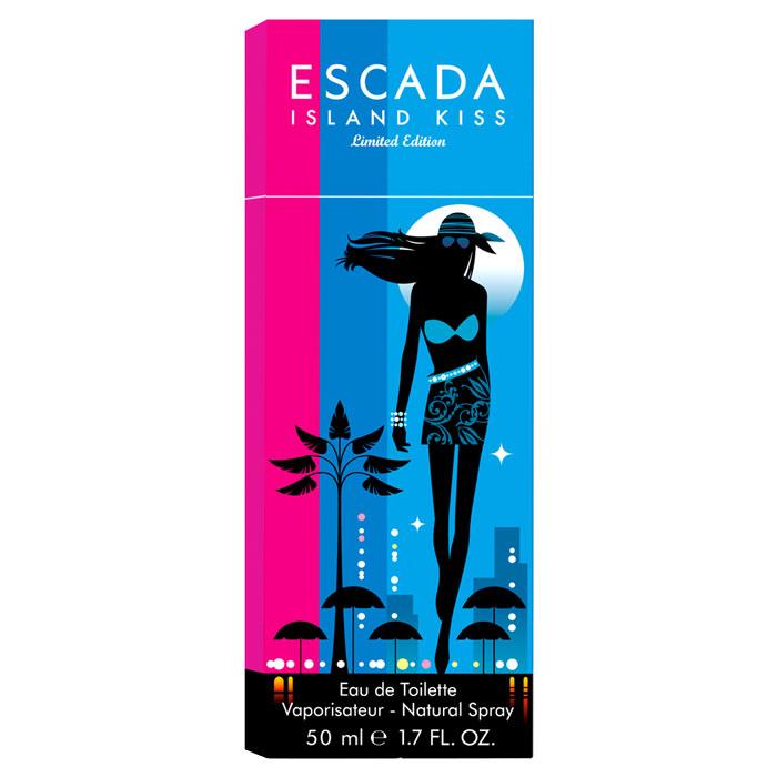 Escada Island Kiss. Туалетная вода, 50 млESCq00065Аромат Escada Island Kiss напоминает о беззаботных летних днях на пляже или яхте, о теплых романтических летних ночах, в тоже время он теплый, экзотический и сексуальный. Аромат открывается с цветочных нот магнолии и букета белых цветов, переходя в тонизирующие ноты сердца из белого персика и гибискуса. Динамизм композиции смягчен нежными и чувственными нотами белого дерева и мускуса, создающими атмосферу легкости и беззаботности. Классификация аромата: цветочный. Пирамида аромата: Верхние ноты: магнолия, белые цветы, манго, апельсин, малина и маракуйя. Ноты сердца: роза, красные фрукты, белый персик и гибискус. Ноты шлейфа: мускус и сандаловое дерево. Ключевые слова: Дерзкий, свежий, экзотический, энергичный! Характеристики: Объем: 50 мл. Производитель: Великобритания. Туалетная вода - один из самых популярных видов...
