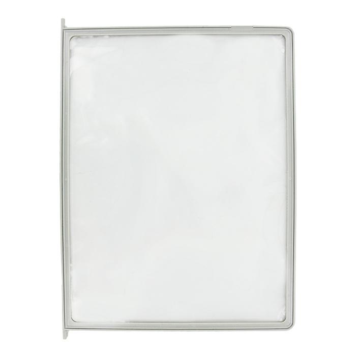 Демонстрационная панель Index, цвет: серый, А4IDP010/GYСменная демонстрационная панель Index выполнена в виде папки-уголка и идеально подходит для предоставления различных брошюр. Папка обеспечивает быстрый доступ к документам. Панель выполнена из экологически-чистого материала и совместима с другими демонстрационными системами Index. Характеристики: Материал: полипропилен. Цвет: серый. Размер: 23 см х 31 см. Изготовитель: Китай.