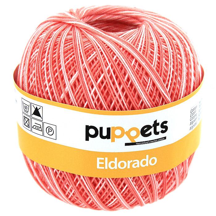 Пряжа для вязания Eldorado Multicolour, цвет: бледно-розовый меланж, 50 г4578010 - 00032Пряжа для вязания Eldorado Multicolour состоит из мерсеризированного хлопка. Мерсеризация - обработка пряжи крепким раствором щелочи (едкого натра) под напряжением. Этот метод был разработан в первой половине XIX века английским химиком Джоном Мерсером. После такой обработки хлопковые волокна приобретают новые свойства: шелковистый блеск, мягкость, дополнительную прочность, на 25% повышается допустимое растягивающее усилие. Натуральный хлопок не имеет блеска. После мерсеризации его удается окрасить в любые яркие тона. Пряжа из хлопка является экологически чистой, так как производится из натурального материала. В настоящее время вязание плотно вошло в нашу жизнь, причем не столько в виде привычных свитеров, сколько в виде оригинальных, изящных моделей из самой разнообразной пряжи. Поэтому так важно подобрать именно ту пряжу, которая позволит вам связать даже самую сложную и необычную модель изделия.