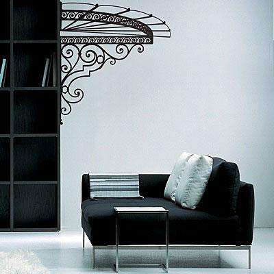 Стикер Paristic Маркиза (вправо), 72 х 80 смПР00063Добавьте оригинальность вашему интерьеру с помощью необычного стикера Маркиза. Изображение на стикере представлено в виде изящного навеса маркизы. Необыкновенный всплеск эмоций в дизайнерском решении создаст утонченную и изысканную атмосферу не только спальни, гостиной или детской комнаты, но и даже офиса. Стикер выполнен из матового винила - тонкого эластичного материала, который хорошо прилегает к любым гладким и чистым поверхностям, легко моется и держится до семи лет, не оставляя следов. Сегодня виниловые наклейки пользуются большой популярностью среди декораторов по всему миру, а на российском рынке товаров для декорирования интерьеров - являются новинкой.
