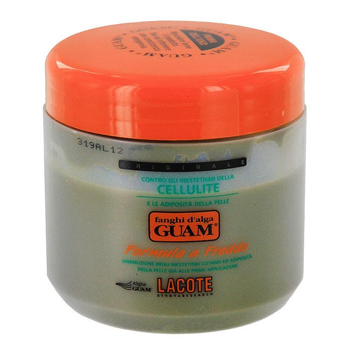 Маска антицеллюлитная Guam, с охлаждающим эффектом, 500 г0431Активные компоненты маски Lacote Guam выравнивают кожный рельеф при целлюлите, снимают отечность, укрепляют сосуды, уменьшают объем бедер, подтягивают и укрепляют кожу. Экстракты водорослей в сочетании с фитокомплексом, эфирными маслами и ментолом способствуют сужению сосудов, обеспечивают отток избыточной межклеточной жидкости, уменьшают сдавливание кровеносных сосудов и укрепляют их стенки. Значительно улучшает состояние кожи: разглаживает, повышает эластичность и тонус. Применение : наносить на зоны ягодиц и бедер тонким слоем на предварительно очищенную кожу, обернуть пленкой (не входит в комплект), держать 45 минут, для усиления эффективности укрыться пледом, снять пленку и смыть водой, завершить процедуру нанесением на кожу антицеллюлитного геля или крема. Рекомендуемый курс : 3 дня подряд, затем интервал между процедурами 2-3 дня; всего проводить 10-15 процедур. Противопоказания : беременность. Не наносить на зону живота и талии!