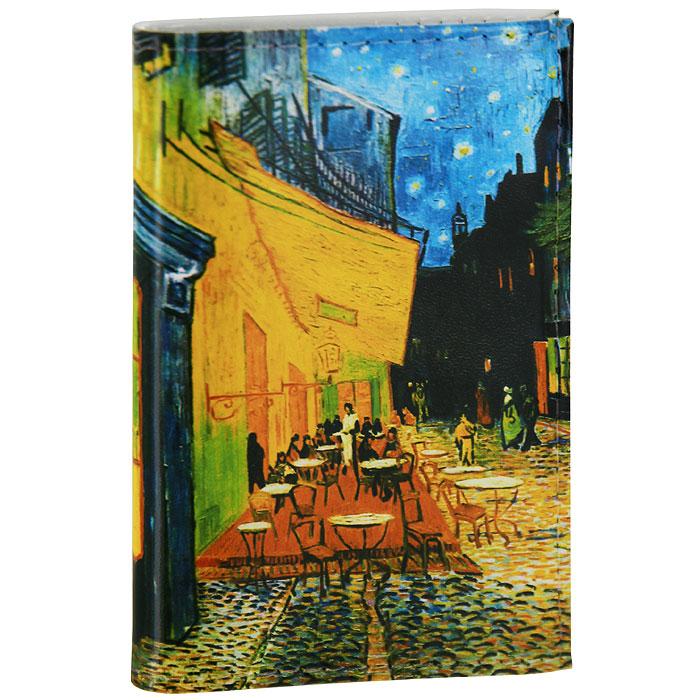 Визитница Ван Гог Терраса кафе ночью. VIZIT-029VIZIT-029Визитница, изготовленная из натуральной кожи, оформлена изображением знаменитой картины Ван Гога Терраса кафе ночью. Внутри находится съемный блок односторонних кармашков, рассчитанных на хранение 18 визиток или кредитных карт. Визитница станет отличным подарком человеку, ценящему практичные и стильные вещи, а качество его исполнения представит такой подарок в самом выгодном свете. Характеристики: Материал: натуральная кожа, пластик. Размер (в сложенном виде): 7,5 см х 10,5 см. Артикул: VIZIT29.