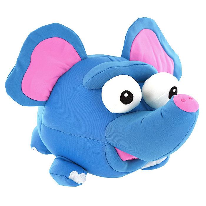 Игрушка-антистресс Слон Пучеглазик, 27 смMT-J121191Яркая игрушка-антистресс Слон Пучеглазик, выполненная в виде забавного слоника с большими выпученными глазами, привлечет внимание каждого и станет отличным подарком. Главное достоинство игрушки - это осязательный массаж, приятный, полезный и антидепрессивный. Внешний материал - гладкий, эластичный и прочный трикотаж. Наполнитель: гранулы полистирола - крохотные шарики диаметром меньше миллиметра.