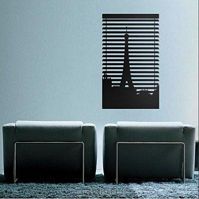 Стикер Paristic Ноктюрн № 2, цвет: черный, 26 х 43 см300187_красныйСтикер Paristic Ноктюр - это уникальная возможность создать неповторимый индивидуальный облик интерьера вашего дома. Стикер, изображающий окно, закрытое жалюзи, за которым виден силуэт Эйфелевой башни, выполнен из матового винила - тонкого эластичного материала, который хорошо прилегает к любым гладким и чистым поверхностям, легко моется и держится до семи лет, при снятии не оставляет следов. Такой оригинальный элемент декора придаст интерьеру креативность и новое настроение и станет великолепным украшением, притягивающим заинтересованные взгляды окружающих. В комплекте со стикером предусмотрена подробная инструкция по наклеиванию (на русском языке). Характеристики: Материал: винил. Цвет: черный. Размер стикера (В х Ш): 43 см х 26 см. Размер стикера (В х Ш): 48,5 см х 35 см. Производитель: Франция. Paristic - это стикеры высокого качества. Художественно выполненные стикеры, создающие эффект обмана зрения, дают...
