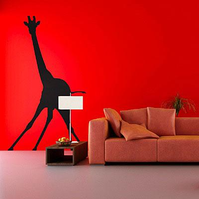 Стикер Paristic Жираф, цвет: черный, 119 х 177ПР00142Стикер Paristic Жираф - это уникальная возможность создать неповторимый индивидуальный облик интерьера вашего дома. Стикер с изображением силуэта жирафа выполнен из матового винила - тонкого эластичного материала, который хорошо прилегает к любым гладким и чистым поверхностям, легко моется и держится до семи лет, при снятии не оставлет следов. Такой оригинальный элемент декора придаст интерьеру креативность и новое настроение и станет необычным украшением, притягивающим заинтересованные взгляды окружающих. В комплекте со стикером предусмотрена подробная инструкция по наклеиванию (на русском языке).