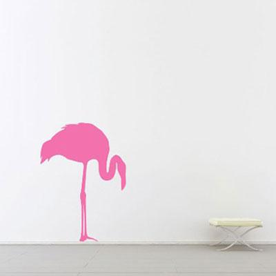 Стикер Paristic Розовый фламинго № 2, цвет: розовый, 43 х 60 см33738Стикер Paristic Розовый фламинго - это уникальная возможность придать интерьеру неповторимый индивидуальный облик. Стикер с изображением силуэта розового фламинго создаст в доме невероятную атмосферу тепла, уюта и радости. Стикер выполнен из матового винила - тонкого эластичного материала, который хорошо прилегает к любым гладким и чистым поверхностям, легко моется и держится до семи лет, при снятии не оставляет следов. Такой оригинальный элемент декора наполнит интерьер креативностью, яркими красками и солнечным настроением и станет великолепным украшением, притягивающим заинтересованные взгляды окружающих. В комплекте со стикером предусмотрена подробная инструкция по наклеиванию (на русском языке).