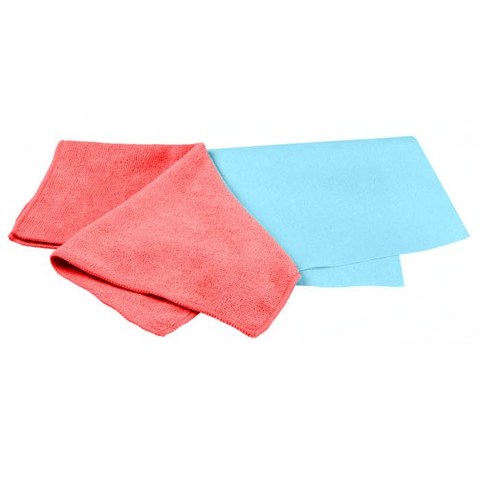 Набор салфеток для ухода за автомобилем Pingo, 40 х 36 см, 32 х 32 см, 2 шт5844Салфетки Pingo идеально подходят для чистки лобового стекла, пластика и хрома, обивки сидений и кузова автомобиля, для влажной и сухой уборки. Они отлично впитывают влагу, быстро и эффективно удаляют пыль и грязь. Могут применяться без использования дополнительных чистящих средств. Сильно загрязненную салфетку промыть в теплой воде. При стирке не использовать отбеливатель и смягчающие средства, не гладить. Набор включает две салфетки из микрофибры: гладкую и махровую. Характеристики: Материал: 70% полиэстер, 30% полиамид. Размер салфеток: 40 см х 36 см; 32 см х 32 см. Производитель: Польша. Артикул: 5844.