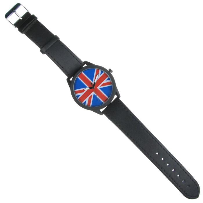 Часы Mitya Veselkov Британский флаг. MVBlack-22