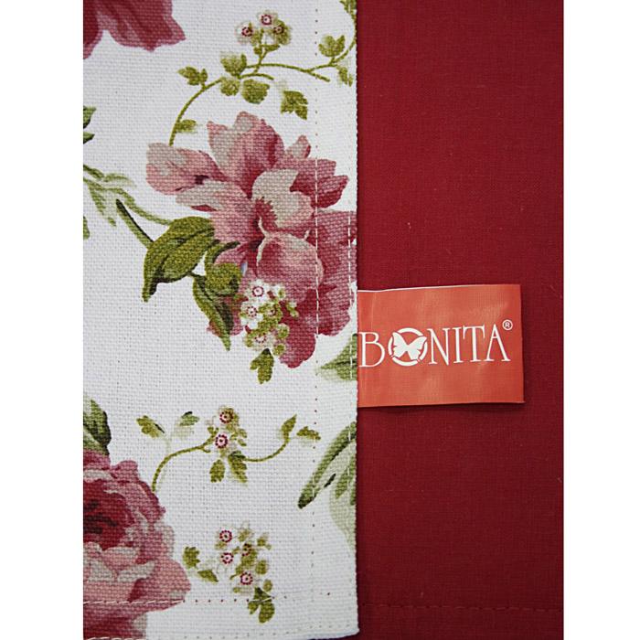 Салфетка Bonita, цвет: красный, 30 см х 45 см1101210124Салфетка Bonita выполнена из натурального хлопка. Поверхность салфетки с одной стороны красного цвета, с другой стороны оформлена цветочным рисунком. Такая салфетка защитит ваш стол от воздействия горячей посуды и станет оригинальным дополнением интерьера. Характеристики: Материал: 100% хлопок. Цвет: красный. Размер салфетки: 30 см х 45 см. Изготовитель: Китай. Артикул: 1101210124. Уют на кухне это предмет заботы специалистов, создающих текстиль для кухни Bonita. Кухня, столовая, гостиная - то место в доме, где хочется собраться всем вместе, ощутить радость и уют. И немалая доля этого уюта зависит от подобранных под вашу мебель, и что уж говорить, под ваше настроение - полотенец, скатертей, салфеток и прочих милых мелочей. Bonita предлагает коллекции готовых стилистических решений для различной кухонной мебели, множество видов, рисунков и цветов. Вам легко будет создать нужную атмосферу на кухне и в столовой с товарами Bonita.