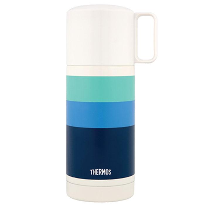 Термос для напитков Thermos Fej Blue, 350 мл836496Термос для напитков Thermos Fej Blue будет незаменим во время путешествий, поездок на пикник или на дачу. Особенности термоса Thermos Fej Blue: внешние и внутренние стенки термоса выполнены из высококачественной нержавеющей стали, устойчивой к разрушению термос оснащен вакуумной технологией Thermax: сохраняет тепло 8 часов, холод 24 часа широкое горло для использования кубиков льда пластиковая кнопка кнопочного типа для легкого открывания удобная пластиковая чашка с ручкой для питья открывающаяся пробка позволяет предотвратить проливание пробка откидывается одним нажатием руки благодаря встроенной пружине пробка легко разбирается для очистки яркий и стильный дизайн.