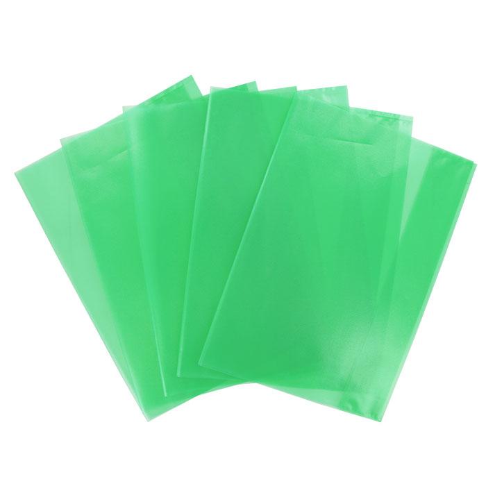 """Обложка для тетрадей """"Panta Plast"""", формат А4, цвет: зеленый, 5 шт 05-0067-4"""
