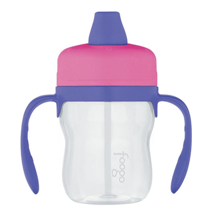 Поильник Phases Foogo с мягким носиком и ручками, цвет: розовый, сиреневый, 235 мл110060Поильник Phases Foogo предназначен для детей от 6 месяцев. Он изготовлен из сополиэфирного материала Eastman Tritan, превосходящий по своим свойствам и экологичности все известные виды пластика. Особенности поильника Phases Foogo: не содержит Бисфенол А ударопрочный и износоустойчивый пластиковая завинчивающаяся крышка снабжена мягким носиком и легко очищаемым клапаном для защиты от протекания мягкий носик не травмирует десны ребенка мерная шкала на корпусе позволяет точно определить количество жидкости в поильнике съемные эргономичные ручки из пластика все детали изделия можно безопасно мыть в посудомоечной машине. Все приспособления для питья под маркой Foogo Phases имеют взаимозаменяемые части, которые подходят для использования со всеми изделиями Phases, включая модели из пластмассы Eastman Tritan и нержавеющей стали. Благодаря возможности использовать взаимозаменяемые части продукция Phases растет...