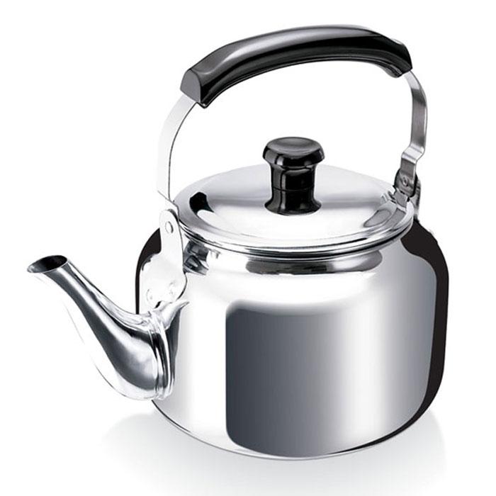 Чайник Beka Claudine 3 л 1202841412028414Чайник Beka Claudine, изготовленный из высококачественной нержавеющей стали с зеркальной полировкой, имеет классическую форму. Он отлично подходит для кипячения воды на плите. Трехслойное дно выполнено из двух пластов стали и пласта алюминия, благодаря этому чайник нагревается быстрее обычного. Удобный носик изящно изогнут. Подвижная ручка чайника оснащена специальной вставкой из пластика, который не нагревается, поэтому об нее невозможно обжечься. Чайник Beka Claudine подходит для использования на всех типах плит, включая индукционные. Также изделие можно мыть в посудомоечной машине. Характеристики: Материал: нержавеющая сталь, пластик. Объем чайника: 3 л. Диаметр основания чайника: 15,5 см. Высота чайника (с учетом ручки): 25 см. Высота чайника (без учета ручки и крышки): 13 см. Размер упаковки: 23,5 см х 16 см х 21 см. Производитель: Бельгия. Артикул: 12028414. Бельгийская компания Beka является одним из...