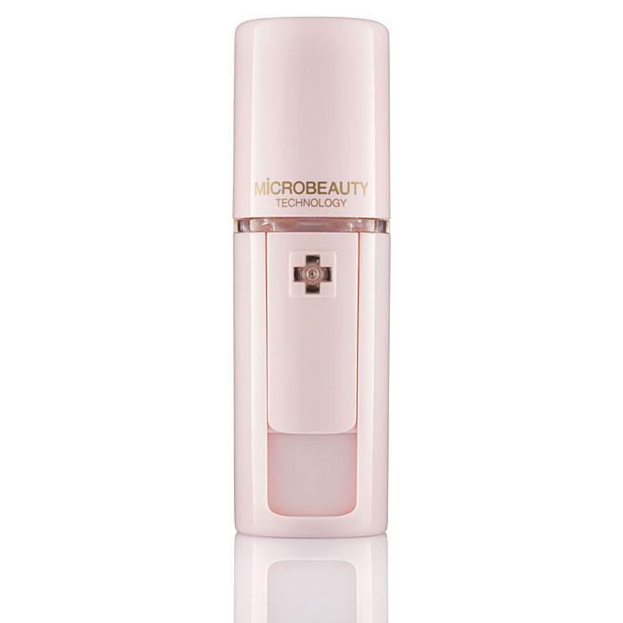Ультразвуковой увлажнитель для кожи Microbeauty, цвет: розовый