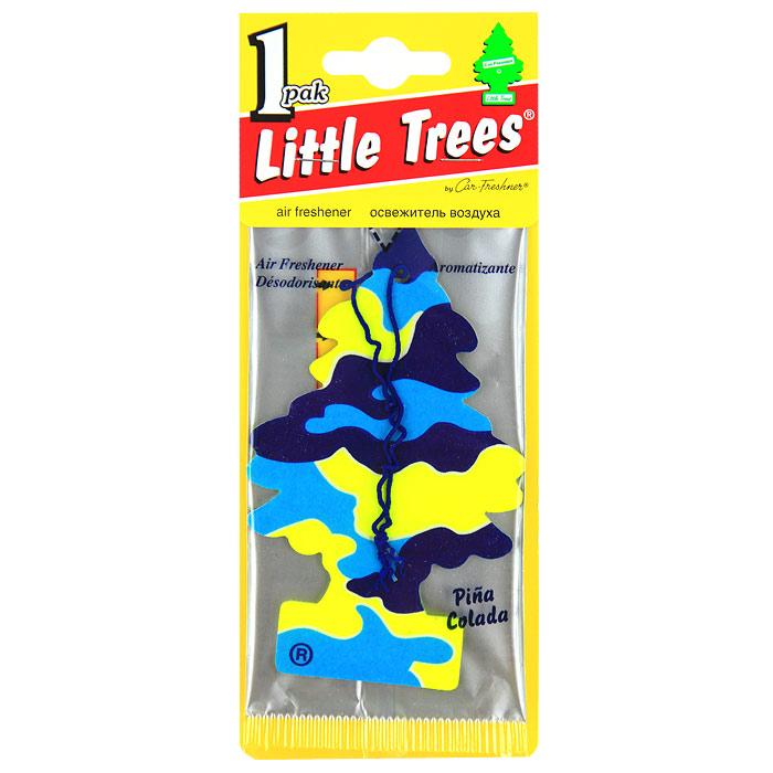 Освежитель Car-Freshner Little Trees Елочка Пина коладаU1P-10967-RUSSОригинальный ароматизатор Освежитель Car-Freshner Little Trees сделан из высококапилярного качественного картона - что позволяет долго сохранять аромат и насыщенность красок изображения. Уникален по эффективности действия, насыщенности и стойкости запаха Повесьте ароматизатор в любом удобном месте - в салоне автомобиля, дома или в офисе - и получайте удовольствие! Характеристики: Материал: 100% спрессованная целлюлоза, полимеры, нетоксичные отдушки. Размер упаковки: 19 см х 7,5 см х 1 см.