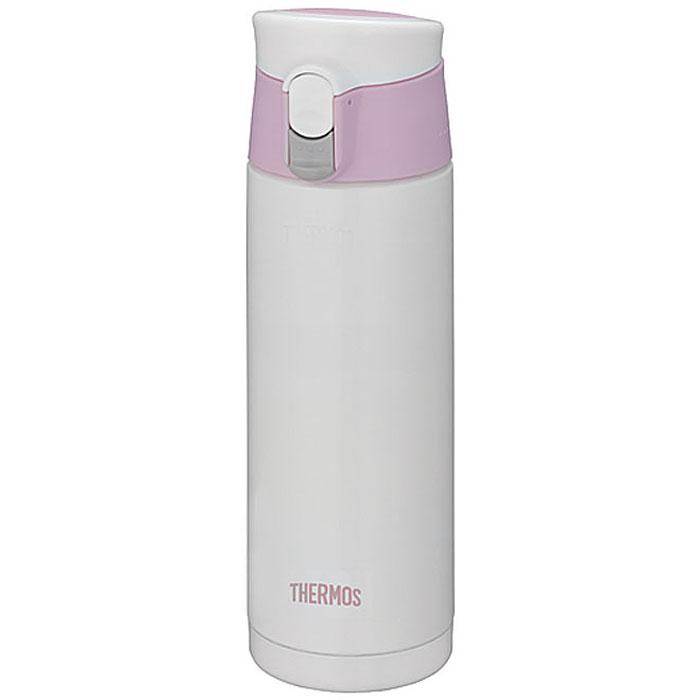 """Термос JMX """"Motion"""", цвет: белый, розовый, 500 мл"""