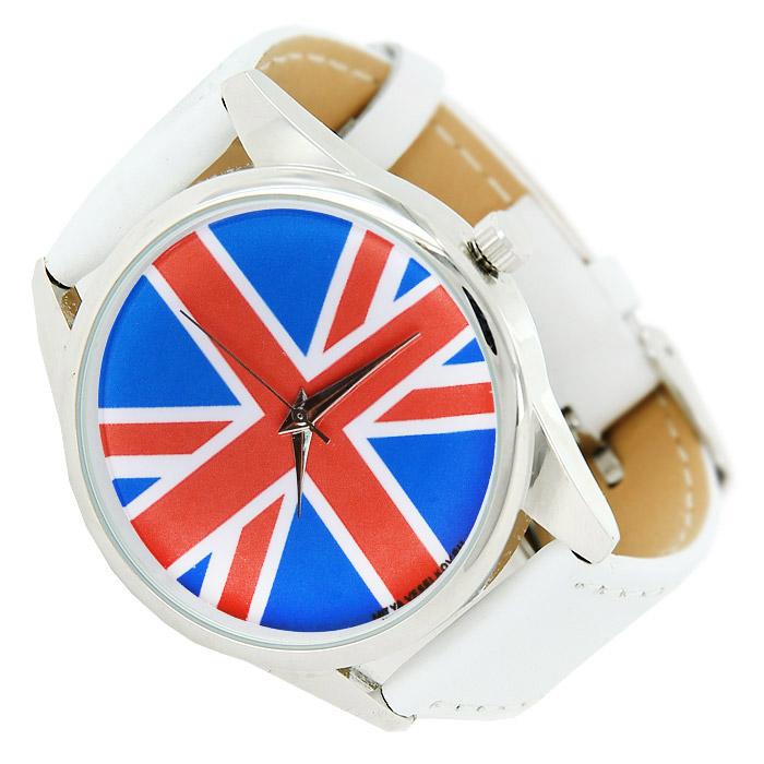 Zakazat.ru Часы Mitya Veselkov Британский флаг. MV.White-12