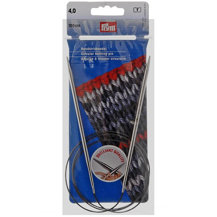 Спицы Prym латунные круговые, длина лески 100 см, № 4212146Латунные спицы Prym прочные, легкие, гладкие, удобные в использовании. Кончики спиц закругленные. Круговые спицы предназначены для выполнения деталей и изделий, не имеющих швов. Так как вес изделия лучше распределяется именно на таких спицах, то ими очень удобно работать. Короткими круговыми спицами вяжут бейки горловины, воротники-гольф, длинными спицами можно вязать по кругу целые модели. Вы сможете вязать для себя, делать подарки друзьям. Рукоделие всегда считалось изысканным, благородным делом. Работа, сделанная своими руками, долго будет радовать вас и ваших близких.