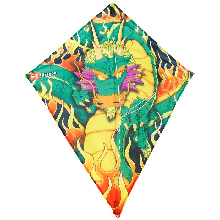 Simba Воздушный змей Дракон, 78 см х 65 см7248390_драконВоздушный змей Дракон, оформленный ярким изображением дракона, идеально подойдет для веселого времяпрепровождения на свежем воздухе. Воздушный змей - это привязной летательный аппарат тяжелее воздуха. Поддерживается в воздухе давлением ветра на поверхность, поставленную под некоторым углом к направлению движения ветра и удерживаемую леером с земли. В последнее десятилетие наблюдается всплеск интереса к игровым воздушным змеям, который доходит, наконец, и до России. Но воздушные змеи - это не только развлечение, хобби, активный отдых, это еще и замечательная развивающая игра. Воздушные змеи летают благодаря встречному потоку воздуха, или, проще говоря, ветру. Именно ветер создает подъемную силу у змея. Без ветра не взлетит ни один змей! Чем сильнее ветер, тем проще поднять воздушного змея. Для новичков советуем выбирать ветра посильнее. Для запуска змеев надо выбирать большие открытые площадки. Змея можно запускать в одиночку или вдвоем. Чтобы запустить...