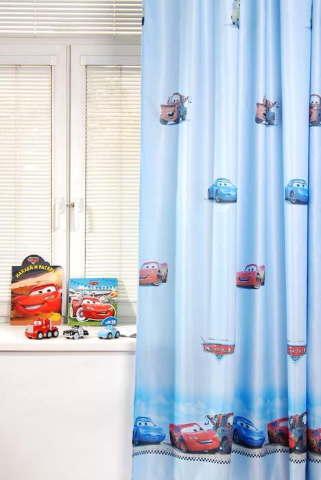 Портьера ТАС Cars, цвет: голубой, 200 х 265 смGS0771B-90003153Портьера TAC Cars изготовлена из полиэстера голубого цвета и шита на универсальной шторной ленте. Портьера TAC Cars осуществит заветную мечту вашего ребенка окунуться в волшебный мир сказок, а любимые персонажи создадут атмосферу уюта для вашего малыша. За основу оформления портьеры взяты главные герои из мультфильма Тачки. Полиэстер - вид ткани, состоящий из полиэфирных волокон. Ткани из полиэстера - легкие, прочные и износостойкие. Такие изделия не требуют специального ухода, не пылятся и почти не мнутся. Характеристики: Материал: 100% полиэфир. Цвет: голубой. Размер (Ш х В): 200 см х 265 см. Комплектация: 1 шт. Изготовитель: Россия. Артикул: GS0771B. УВАЖАЕМЫЕ КЛИЕНТЫ! Обращаем ваше внимание на цвет изделия. Цветовой вариант комплекта, данного в интерьере, служит для визуального восприятия товара. Цветовая гамма данного комплекта...