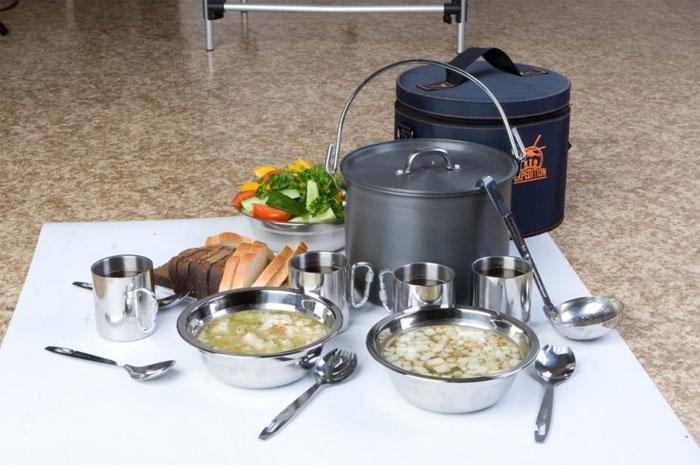 Набор посуды Expedition 4 персоны expedition общий арт. ecps 48 - купить на