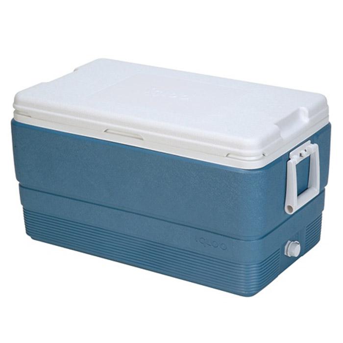 Изотермический пластиковый контейнер Igloo MaxCold 7044367Изотермический пластиковый контейнер Igloo MaxCold 70 предназначен для кратковременного хранения или транспортировки охлажденных продуктов и напитков. Для поддержания температуры рекомендуется использовать с аккумуляторами холода. Особенности модели: Крышка без защелок; Резьбовая сливная пробка для отвода конденсата; Двойная пенная изоляция корпуса и крышки UltraTherm позволяет поддерживать хранить лед 5 дней при 30°С; Удобные складные ручки для переноски.