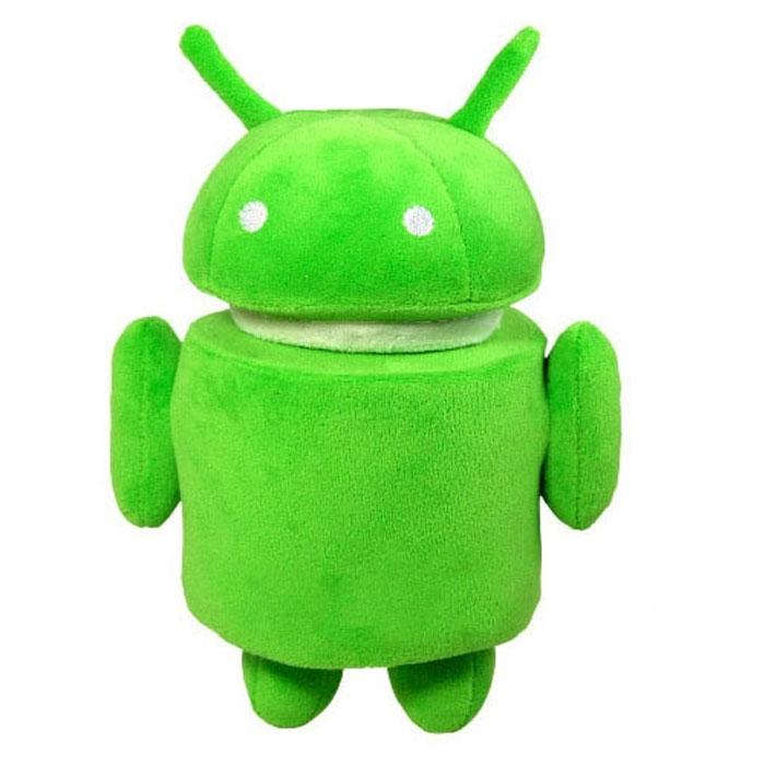 Плюшевая игрушка Android, цвет: зеленый, 17 смAND005Самая популярная операционная система для мобильных устройств воплощена в замечательной плюшевой игрушке. Знаменитый робот Android теперь существует не только на заставке телефона! Яркая плюшевая фигурка традиционного зеленого цвета выполнена из нетоксичных, экологически чистых материалов и поэтому не имеет ограничений по возрасту. Она очень мягкая и чрезвычайно приятная на ощупь, ее можно поставить на ножки. У игрушки крутится голова, на пузике вышита надпись Android. Плюшевый робот будет отлично смотреться в качестве веселого подарка - в первую очередь, конечно, для фанатов ОС Android.