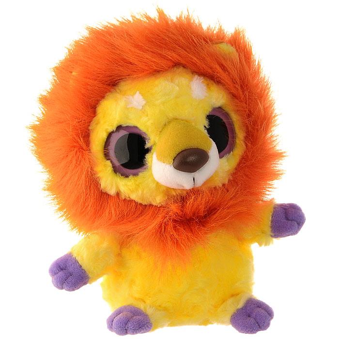 Мягкая игрушка Aurora Лев, 20 см65-215Очаровательная мягкая игрушка Лев, выполненная в виде героя известного детского мультфильма Юху и друзья (YooHoo & Friends), вызовет умиление и улыбку у каждого, кто ее увидит. Она станет замечательным подарком, как ребенку, так и взрослому. Игрушка удивительно приятна на ощупь, а специальные гранулы, используемые при ее набивке, способствуют развитию мелкой моторики рук малыша. Мягкая игрушка может стать милым подарком, а может быть и лучшим другом на все времена. Характеристики: Длина игрушки: 19 см. Набивка: синтепон, пластиковые гранулы.