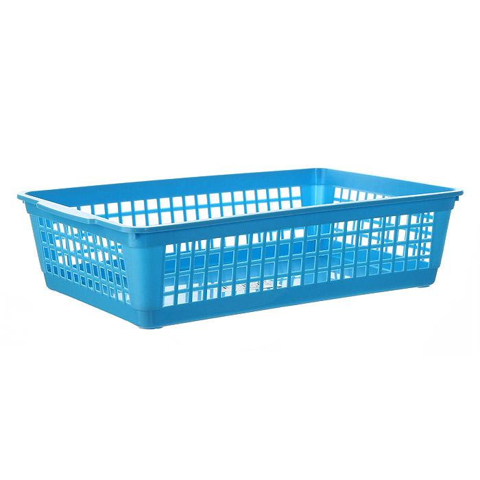 Корзина Gensini, цвет: голубой, 3 л3305Универсальная корзина Gensini, выполненная из высококачественного цветного пластика, предназначена для хранения мелочей в ванной, на кухне, даче или гараже. Позволяет хранить мелкие вещи, исключая возможность их потери. Боковые стенки украшены перфорацией в виде прямоугольников.