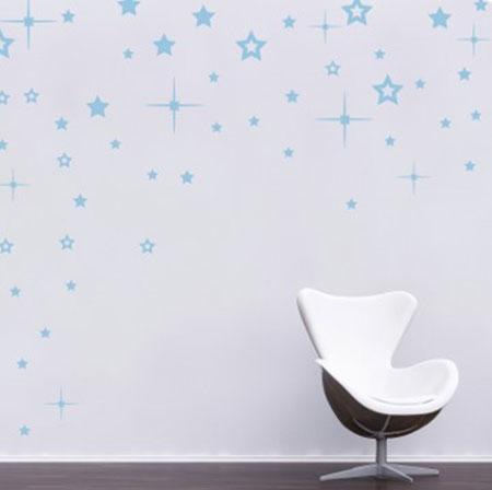Стикер Paristic Звезды, 50 х 70 см43410Добавьте оригинальность вашему интерьеру с помощью необычного стикера Звезды. Изображение на стикере выполнено в виде нескольких звездочек различного размера. Изображения можно разделить и разместить в любых местах в выбранном вами помещении, создав тем самым необычную композицию. Необыкновенный всплеск эмоций в дизайнерском решении создаст утонченную и изысканную атмосферу не только спальни, гостиной или детской комнаты, но и даже офиса. Стикер выполнен из матового винила - тонкого эластичного материала, который хорошо прилегает к любым гладким и чистым поверхностям, легко моется и держится до семи лет, не оставляя следов. Сегодня виниловые наклейки пользуются большой популярностью среди декораторов по всему миру, а на российском рынке товаров для декорирования интерьеров - являются новинкой. Paristic - это стикеры высокого качества. Художественно выполненные стикеры, создающие эффект обмана зрения, дают необычную возможность использовать в...