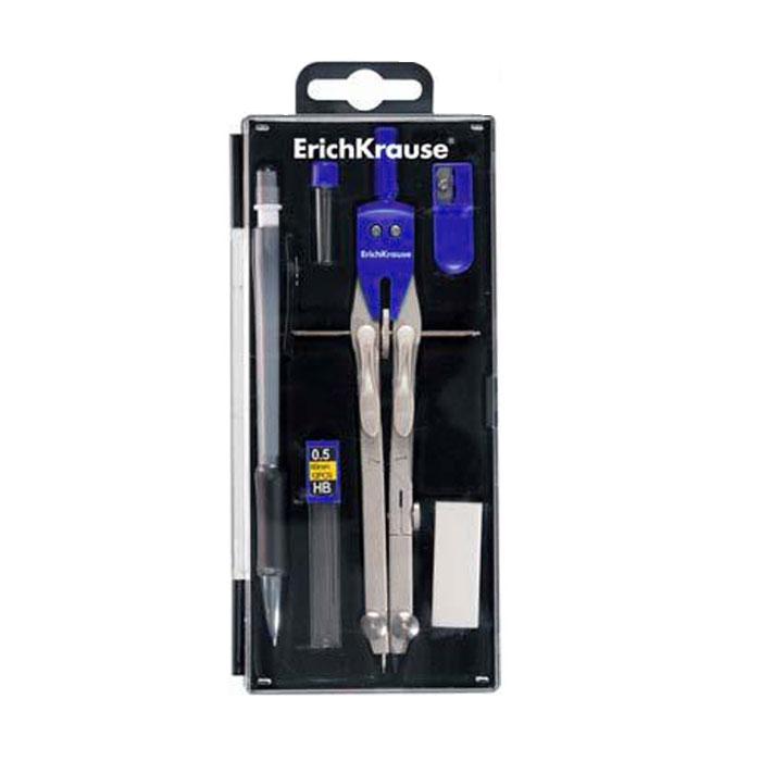 Готовальня Unimax, 6 предметов31534Профессиональная готовальня Unimax для продвинутых пользователей включает в себя шесть предметов: точный циркуль, контейнер с запасными стержнями для циркуля, механический карандаш, контейнер с запасными грифелями для механического карандаша, ластик, точилка. Циркуль выполнен из цинкового сплава с пластиковым держателем и оснащен двумя сгибаемыми ножками, выдвижным удлинителем, колесиком и нажимным механизмом. Благодаря высокому качеству материалов и сборки, надежные чертежные инструменты прослужат вам много лет. Отличный выбор и для учащихся, и для профессионалов. Предметы упакованы в пластиковый футляр с прозрачной крышкой. Характеристики: Материал: металл, пластик, грифель. Длина циркуля: 17 см. Длина карандаша: 14,5 см. Размер упаковки: 17,5 см х 7,5 см х 2 см. Изготовитель: Китай.