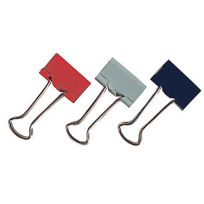 Зажимы для бумаг Erich Krause, 15 мм, 12 шт25088Металлические зажимы Erich Krause серого, красного и синего цветов предназначены для временного скрепления до 50 листов стандартной бумаги. Зажимы для бумаг не мнут документы, не оставляют следов, имеют удобные ушки.