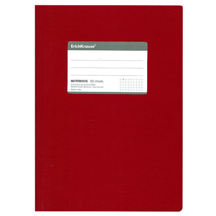 Тетрадь One Color, цвет: красный, 120 листов, В527964Общая тетрадь One Color со скругленными уголками представляет новую линию универсальных общих тетрадей Erich Krause, предназначенных для студентов, учеников старших классов, преподавателей и для всех тех, кому важно записывать и надежно хранить нужную информацию. Яркая красная обложка из ламинированного картона добавит новых ноток в рабочие будни. Внутренний блок выполнен из белой бумаги в серую клетку без полей. На обложке расположена наклейка для подписи тетради. Характеристики: Материал: картон, бумага. Размер тетради: 17 см х 24 см х 1,1 см. Формат: В5. Количество листов: 120. Изготовитель: Индия.