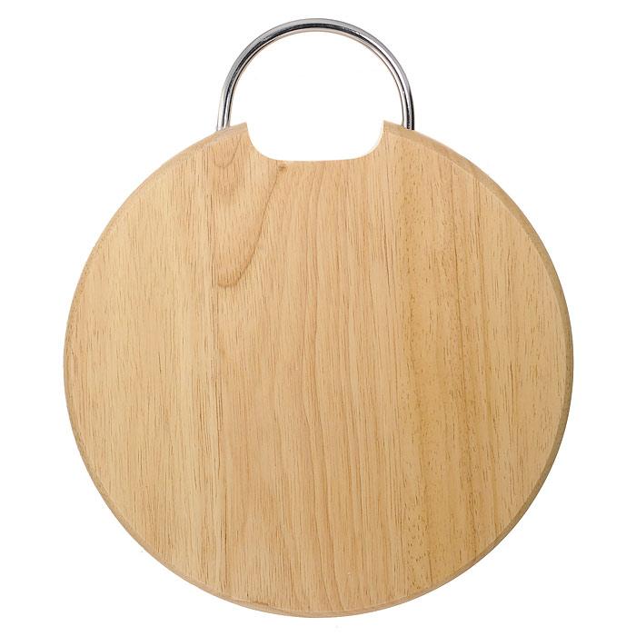 Доска разделочная Oriental way, 28,5см 9/9039/903Круглая разделочная доска Oriental way с металлической ручкой изготовлена из высококачественной древесины гевеи. Прекрасно подходит для приготовления и сервировки пищи. Особенности разделочной доски Oriental way: высокое качество шлифовки поверхности изделий, двухслойное покрытие пищевым лаком, безопасным для здоровья человека, степень влажность 8-10%, не трескается и не рассыхается, высокая плотность структуры древесины, устойчива к механическим воздействиям, не предназначена для мытья в посудомоечной машине. Характеристики: Материал: дерево, металл. Диаметр доски: 28,5 см. Высота доски: 2 см. Производитель: Таиланд. Артикул: 9/903. Торговая марка Oriental way известна на рынке с 1996 года. Эта марка объединяет товары для кухни, изготовленные из дерева и других материалов. Все товары марки Oriental way являются безопасными для здоровья, экологичными, прочными и долговечными в...