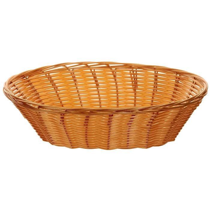 Корзинка плетеная Oriental Way Мульти, овальная, 26 х 17 смMJ-PP005BRПлетеная корзинка Oriental Way Мульти изготовлена из устойчивого к воздействию окружающей среды полипропилена. Идеально подходит для хранения выпечки, конфет, фруктов, косметики, рукоделия и оформления подарков. Срок эксплуатации корзины может составлять десятки лет. Она не требует тщательного ухода, не впитывает запахи, не боится воды и не разрушается от перепада температур. Плетеная корзинка Oriental Way Мульти отлично впишется в интерьер вашего дома. Характеристики: Материал: полипропилен. Размер корзинки: 26 см х 17 см х 8 см. Производитель: Китай. Артикул: MJ-PP005BR.