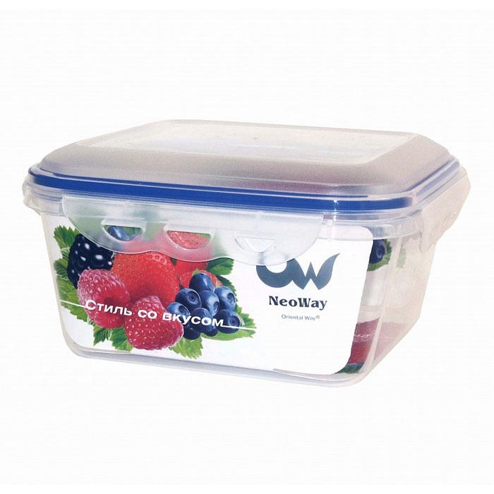 Контейнер для СВЧ NeoWay Enjoy квадратный, 1,5 л контейнер для свч neoway enjoy квадратный 1 8 л